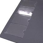【オリジナル契約書ファイル】オリジナルレザータイプ(2つ折り・背表紙付き)